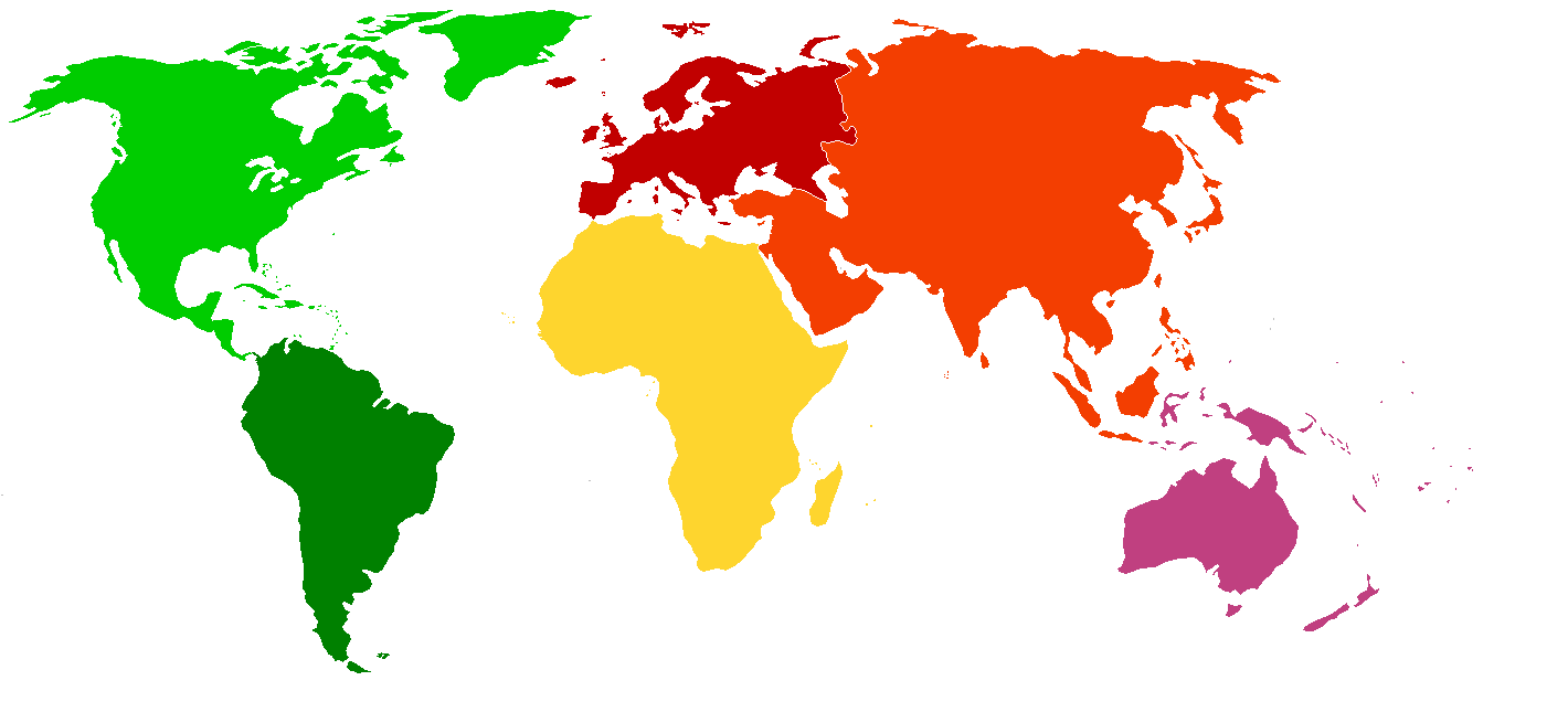World color outline map work and study abroad latitude world color outline map gumiabroncs Gallery