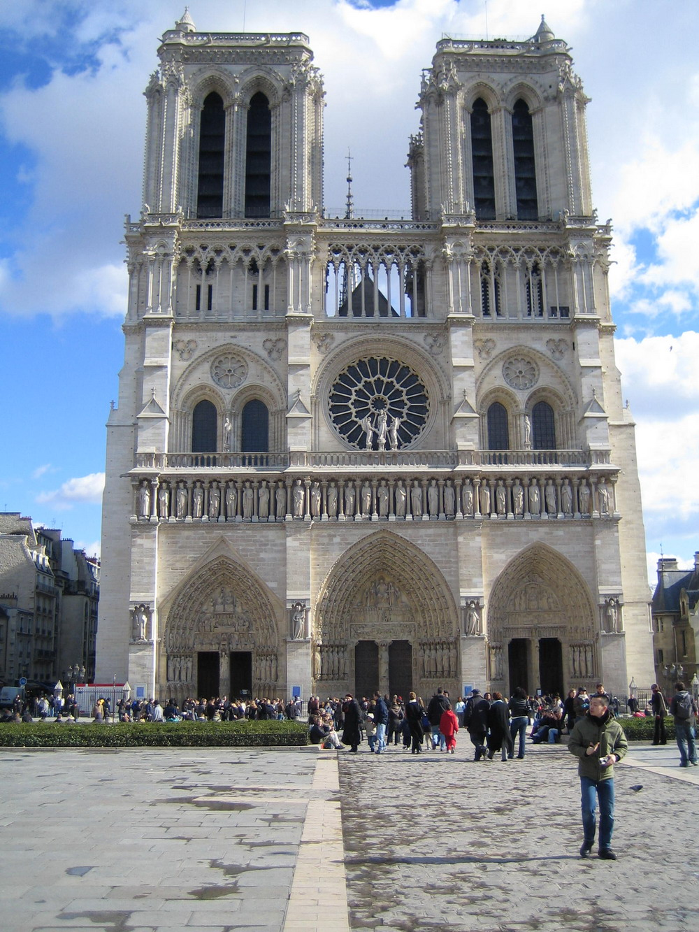 a study on the notre dame cathedral We shall study the art 13 notre dame de paris and the wave of cathedral building 7:18 coursera provides universal access to the world's best education.