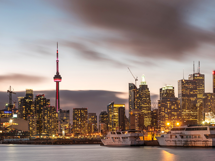 study and work in Canada hospitality Toronto